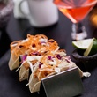 La Bikina in The Woodlands tasting September 2014 Shrimp Tacos