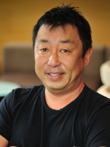 Chef-owner Teiichi Sakurai of Tei An restaurant