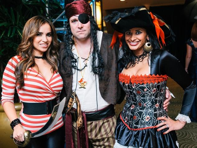 0015, Ronald McDonald House Boo Ball, October 2012, Seidy Battista, Geoff Dunker, Ashra Dunker