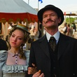 Amanda Seyfried and Neil Patrick Harris in A Million Ways to Die in the West
