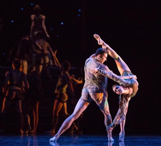Houston Ballet Four Premieres September 2013 Return with William Newton and Katharine Precourt choreographed by Garrett Smith