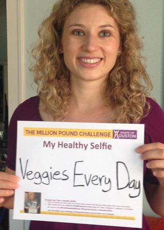 Healthy Selfie campaign Shape Up Houston