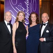 Lisa and Paul Clemenceau, from left, and Sarah and Alfred Moran at the Houston Community College Gala February 2014