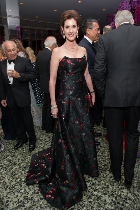 Phoebe Tudor at MFAH Grand Gala Ball 2017