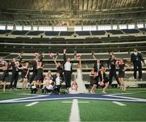Wedding at AT&T Stadium