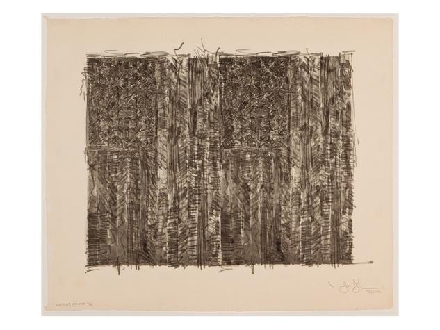 News_Hiram Butler Gallery_exhibitions_April 2012_Jasper Johns_Two Flags 1970