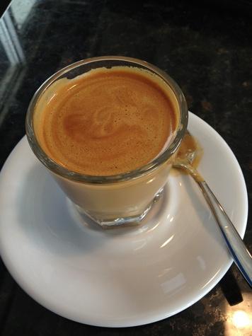 Southside Espresso_cortado_coffee shop