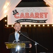 Robert Boudwin, aka Rockets mascot Clutch, at Nora's Home Gala May 2014