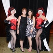 Kayla Lehmann, left, and Paula Walter at Nora's Home Gala May 2014