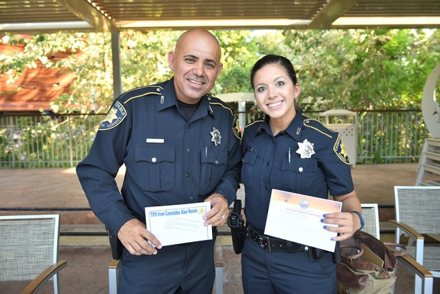 News, Shelby, Thread Alliance, Blue Moon Party, July 2015, Deputy Sam Olivares, Deputy Sandra Chavez