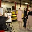 Bill Meganhardt and Neiman Marcus models