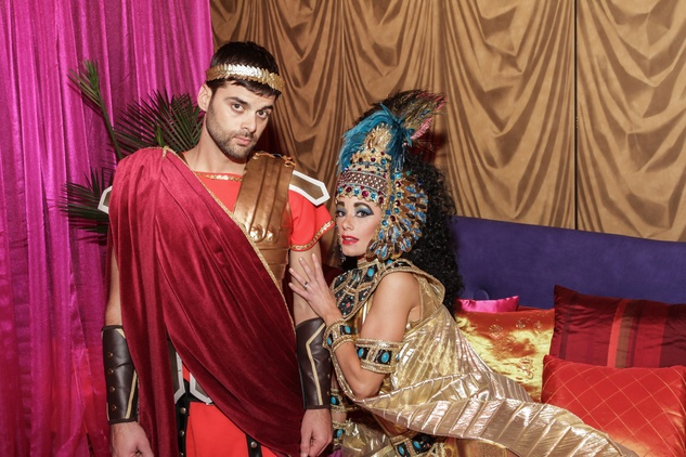 Anthony and Cleopatra at the Winter Ball January 2015