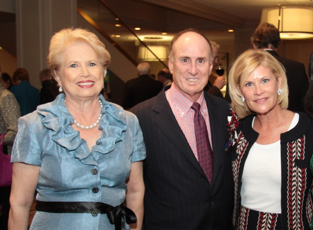 Ginger Blanton, from left, with Eddy and Kelli Blanton