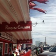 Ragin Cajun, patio, crawfish