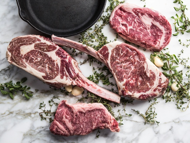 One Fifth Chris Shepherd raw steaks
