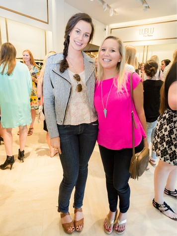 Ashleigh Prowse, Laura McGilberry, Circle Seven Five Launch Party