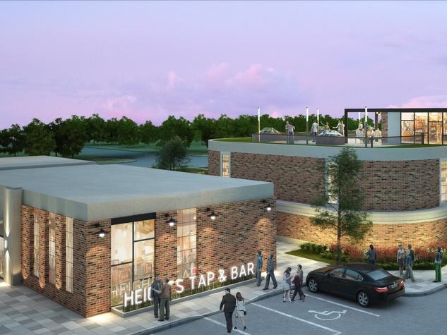 Heights Waterworks rendering