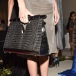 Elizabeth Purpich Collection Longhorn black crocodile handbag at Cesar Galindo Collection