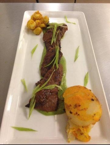Aji Peruvian anticuchos beef heart