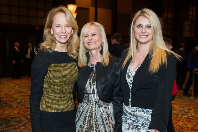 News, Shelby, Red Cross Luncheon, Feb. 2015, Susan Sarofim, Jo Lynn Falgout, Christine Falgout