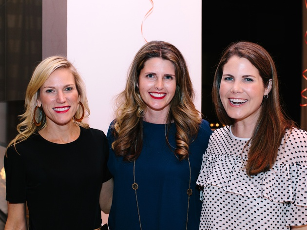Houston,National MS Society On the Move Luncheon, Jan 2017, Erin Maggi, Katie Ross, Ashley Cruse