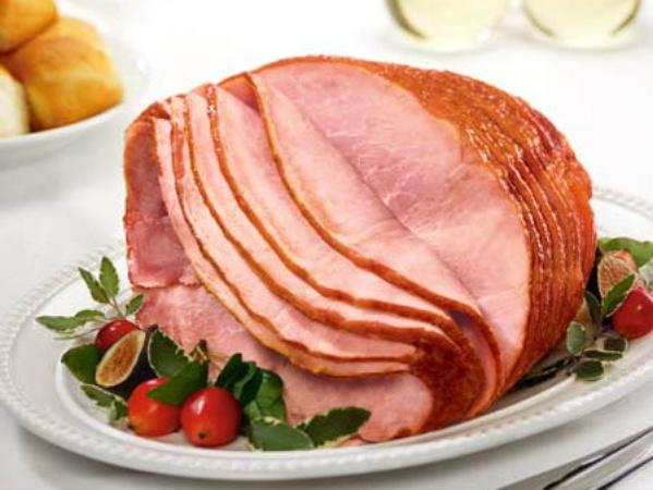 christmas ham with brown sugar glaze