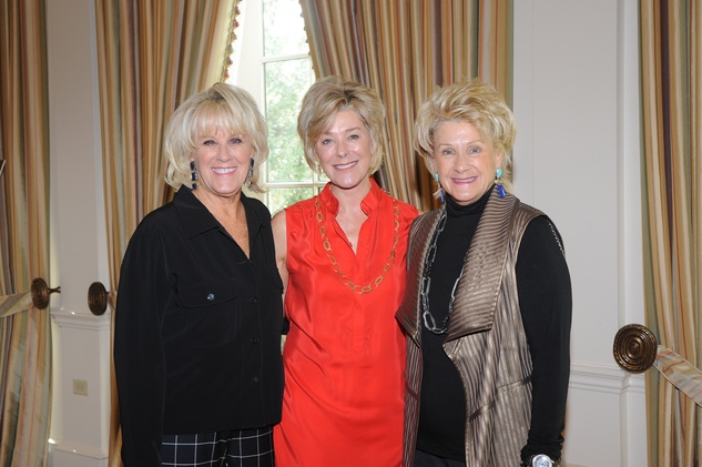 18 Liz Jameson, from left, Leila Gilbert and Ann Berry at the Assistance League luncheon October 2014