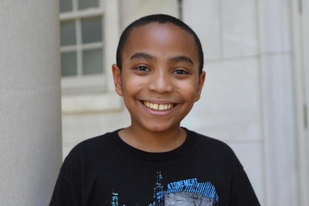 Carson Huey-You the 11 year old student at TCU