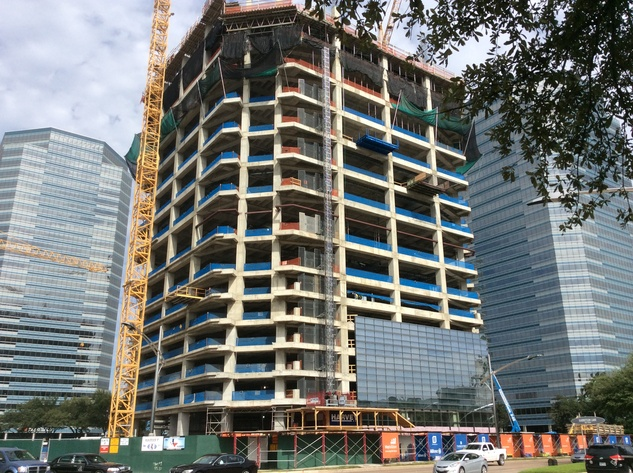 Transwestern is developing a skyscraper in Uptown for BHP Billiton October 2014