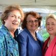 Houston Public Library Foundation benefit May 2013 Ellen Cohen, Kathy Hubbard, Mayor Annise D. Parker
