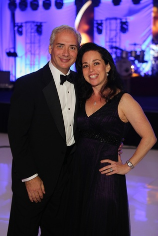 Symphony Ball, May 2015, David and Viviana Denechaud
