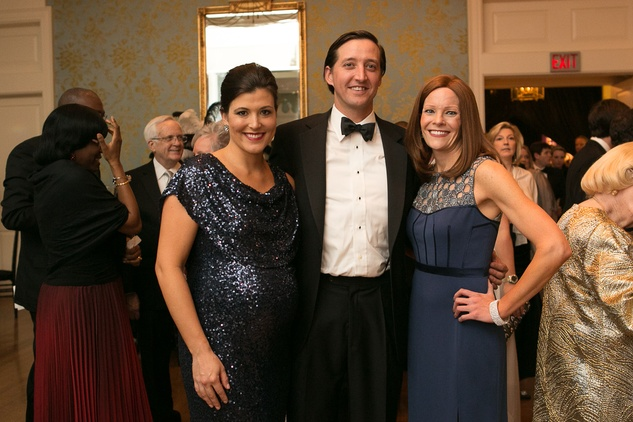 21 Summer and Jason Craig, left, with Maidie Ryan at the Junior League of Houston Gala February 2015