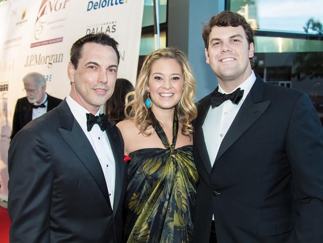 Donald Fowler, Phillip & Jacqueline Taylor, Dallas Opera