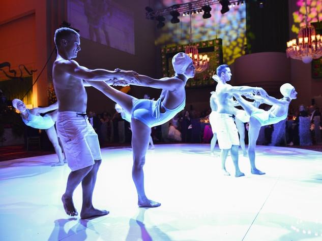 20 Carmen Dancers at the Opera Ball April 2014