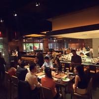 KUU Restaurant interior with crowd