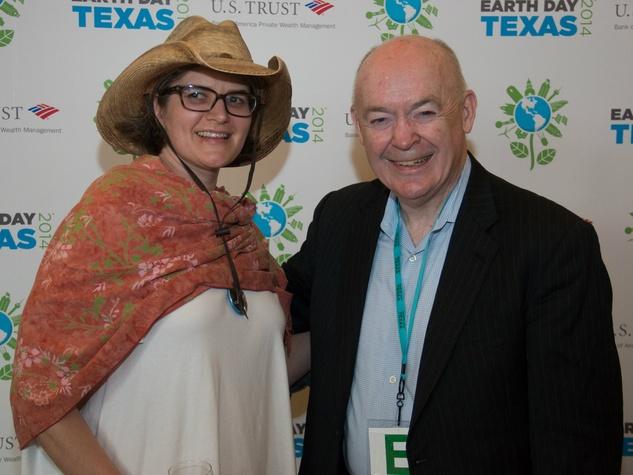 Kristen Barney, John Cruden, Earth Day Texas Leadership Dinner