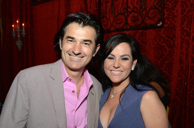 Philippe Schmit and Tonja Oria at the Don Vaughn CD Launch Party August 2014