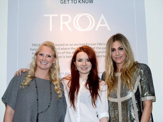 Merrit Beck, Jane Aldridge, Devon Dyer, TROA Elements boutique