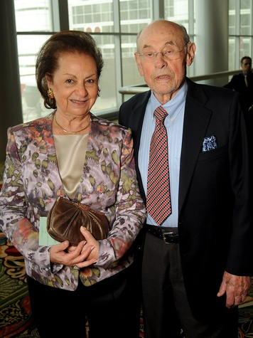 15 Holocaust Museum Moral Courage Award May 2013 Shirley Morgan with husband and Holocaust survivor Bill Morgan