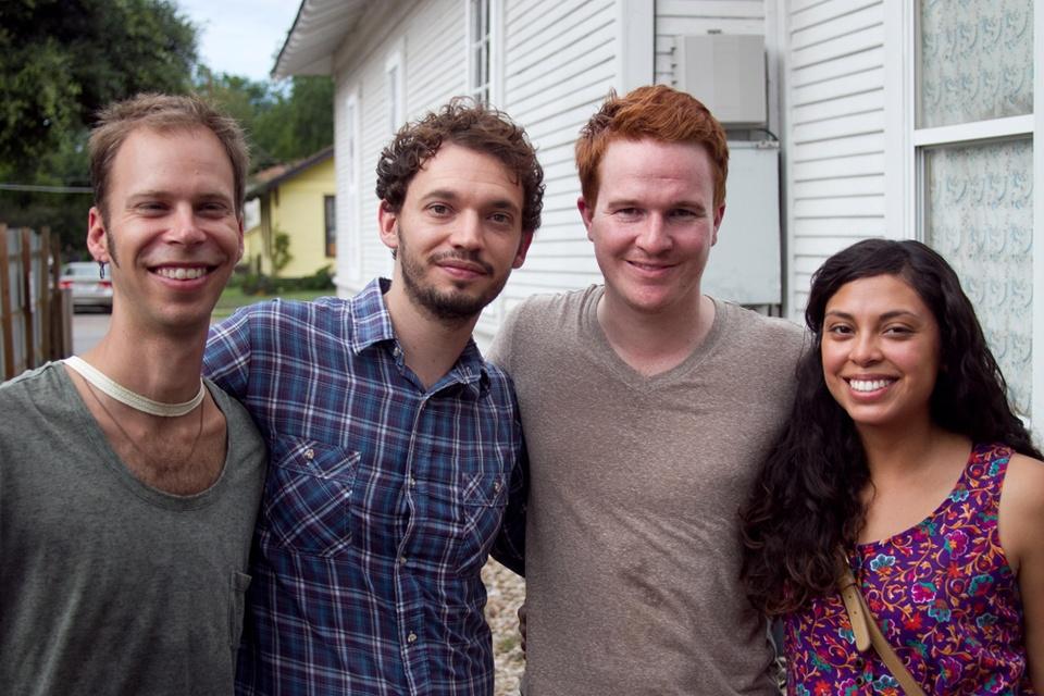Maison d'Etoile Chris Franks, Ryan Haight, Chris Brennand, and Laura Ruiz.