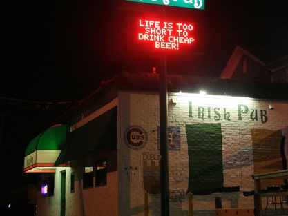 Places-Drinks-Kenneally's Irish Pub-exterior-night-1