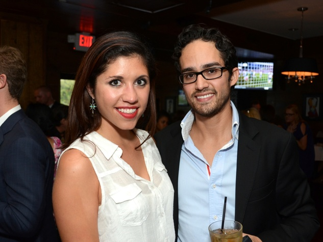 7 Houston Young Professionals and Ballet Barre kickoff event September 2013 Stephanie Bardwil, Diego Bello