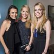 Kimberly Schlegel Whitman, Krystal Schlegel, Kari Schlegel Kloewer, Refine preview party
