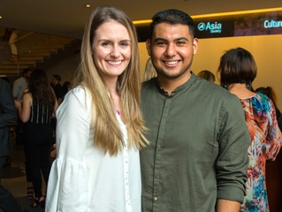 Houston, CultureMap Tastemakers, April 2017, Anne Simpson, Victor Flores