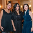 4 Tiphanie Yanique, from left, Nina McConigley and Kimberly Meyer at the Inprint Ball February 2015