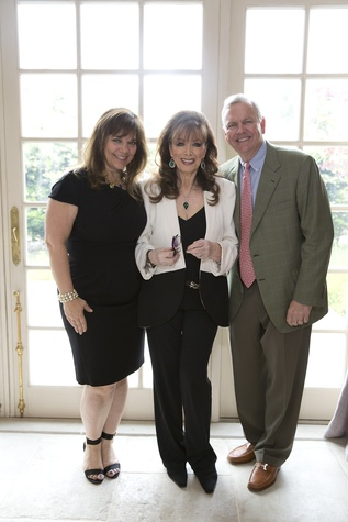 News, Shelby, Celebration of Reading luncheon, April 2015, Terri Havens, Jackie Collins, John Havens