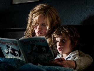 Essie Davis and Noah Wiseman in The Babadook