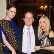 Eloise Frischkorn, from left, Franco Valobra and Carolyn Farb at the Pin Oak Charity Horse Show kick-off February 2014