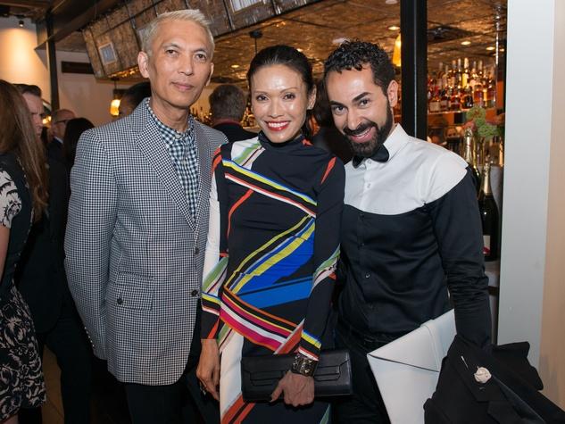 B&B Butchers Opening Mark Nguyen, Duyen Huynh Nguyen, Fady Armanious