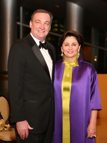 Ralph Burch and Beth Madison at the Winter Ball January 2014